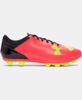 Boys' UA Spotlight DL FG-R Jr. Soccer Cleats   $39.99