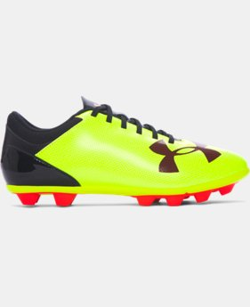 Boys' UA Spotlight DL FG-R Jr. Soccer Cleats   $23.99