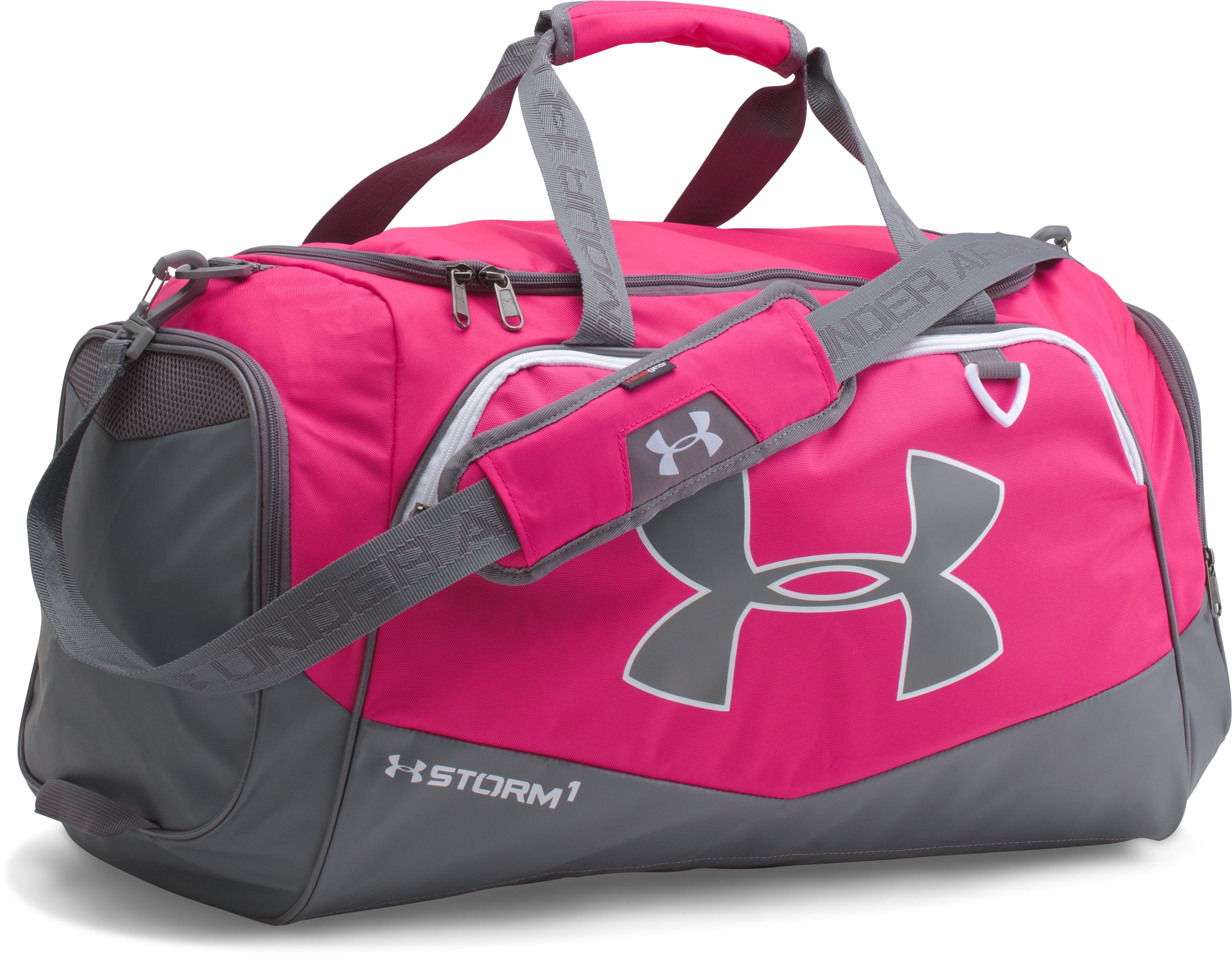 UA Team Storm Undeniable Medium Duffle, Tropic Pink,