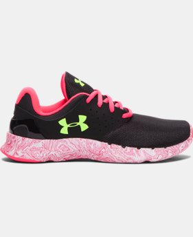 Girls' Grade School UA Flow Swirl Running Shoes