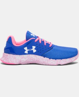 Girls' Grade School UA Flow Swirl Running Shoes  1 Color $36.74