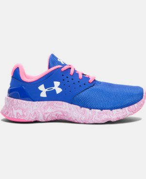 Girls' Pre-School UA Flow Swirl Running Shoes   $43.99