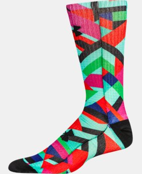 Men's UA Graffiti Crew Socks