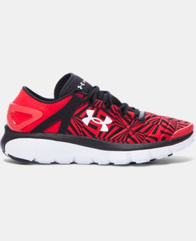 Boys' Grade School UA SpeedForm® Fortis Burst Running Shoes   $62.24