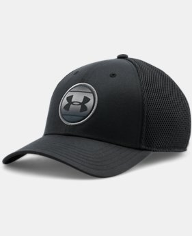 Men's UA Mesh Stretch Fit Cap