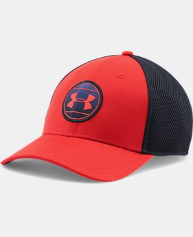 Men's UA Mesh Stretch Fit Cap   $14.99