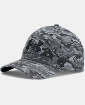 Men's UA Printed Blitzing Stretch Fit Cap  2 Colors $22.99