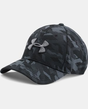 Men's UA Printed Blitzing Stretch Fit Cap LIMITED TIME: FREE SHIPPING  $22.99