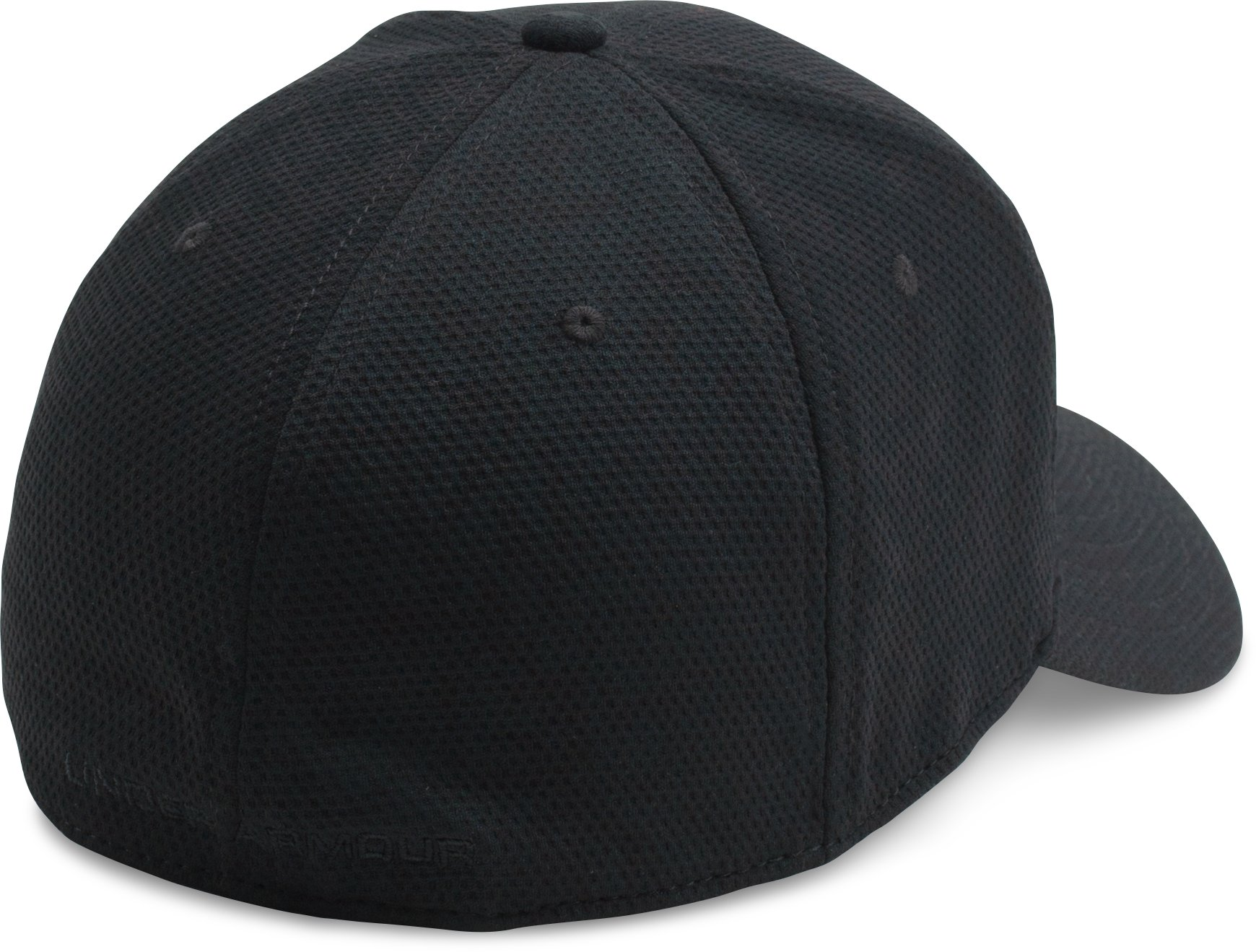 Men's UA Printed Blitzing Stretch Fit Cap, Black ,