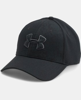 Men's UA Printed Blitzing Stretch Fit Cap  1  Color Available $24.99