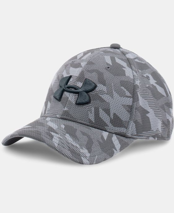 Men's UA Printed Blitzing Stretch Fit Cap LIMITED TIME: FREE U.S. SHIPPING 5 Colors $18.99