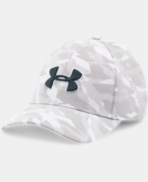 New Arrival  Men's UA Printed Blitzing Stretch Fit Cap  3 Colors $29.99