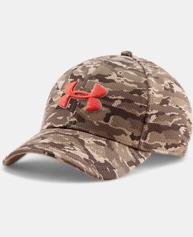 Men's UA Printed Blitzing Stretch Fit Cap  1 Color $13.99 to $18.74