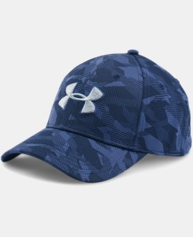 Men's UA Printed Blitzing Stretch Fit Cap  1 Color $22.99