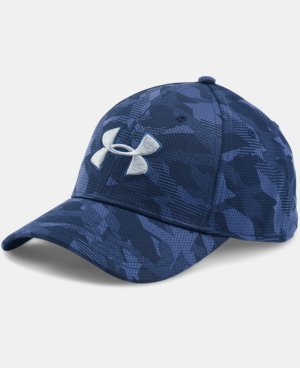 Men's UA Printed Blitzing Stretch Fit Cap LIMITED TIME: FREE U.S. SHIPPING 2 Colors $18.99