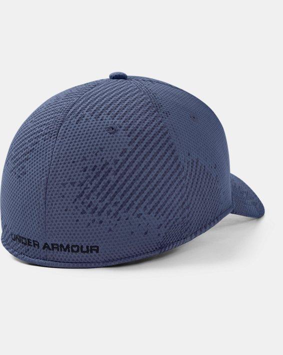 Men's UA Print Blitzing Cap, Blue, pdpMainDesktop image number 1