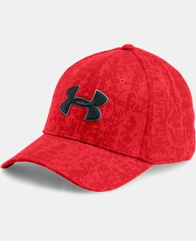 Men's UA Printed Blitzing Stretch Fit Cap  5 Colors $24.99