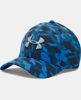 Men's UA Printed Blitzing Stretch Fit Cap   $24.99