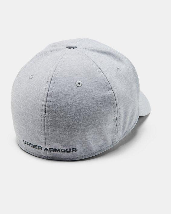 Men's Armour Twist Cap, Gray, pdpMainDesktop image number 1