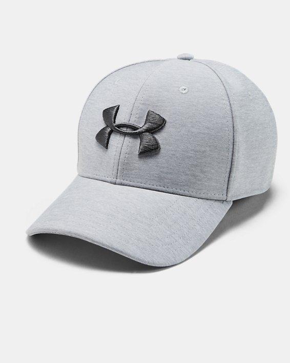 Men's Armour Twist Cap, Gray, pdpMainDesktop image number 0