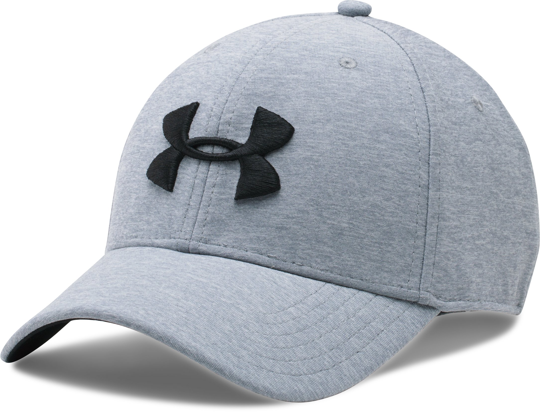 Men's UA Twist Tech Closer Cap, Steel,