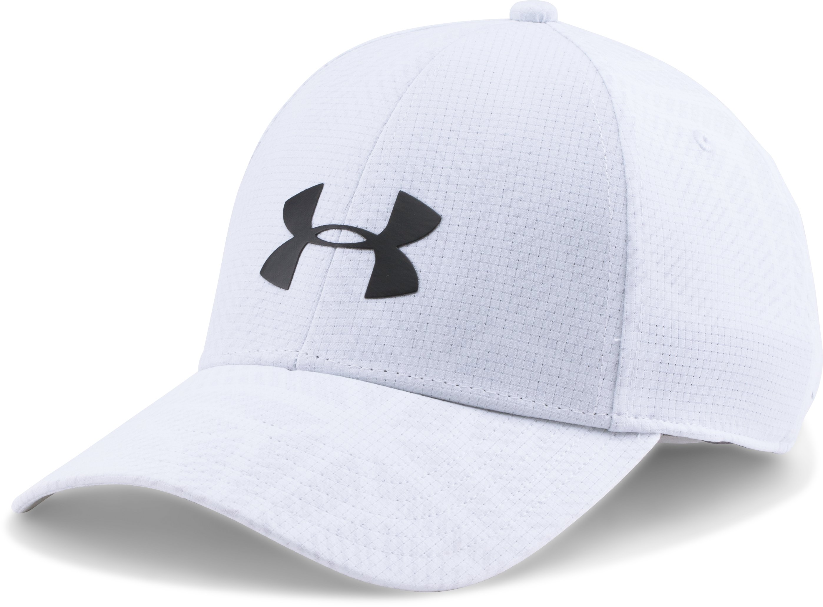 Men's UA CoolSwitch Training Cap, White, zoomed image