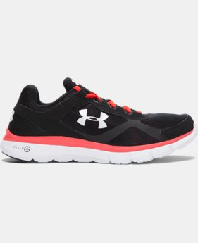Men's UA Micro G® Velocity Graphic Running Shoes  1 Color $74.99