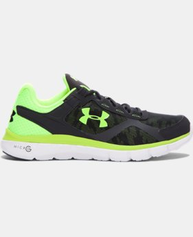 Men's UA Micro G® Velocity Graphic Running Shoes  2 Colors $74.99