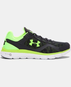 Men's UA Micro G® Velocity Graphic Running Shoes  1 Color $56.24