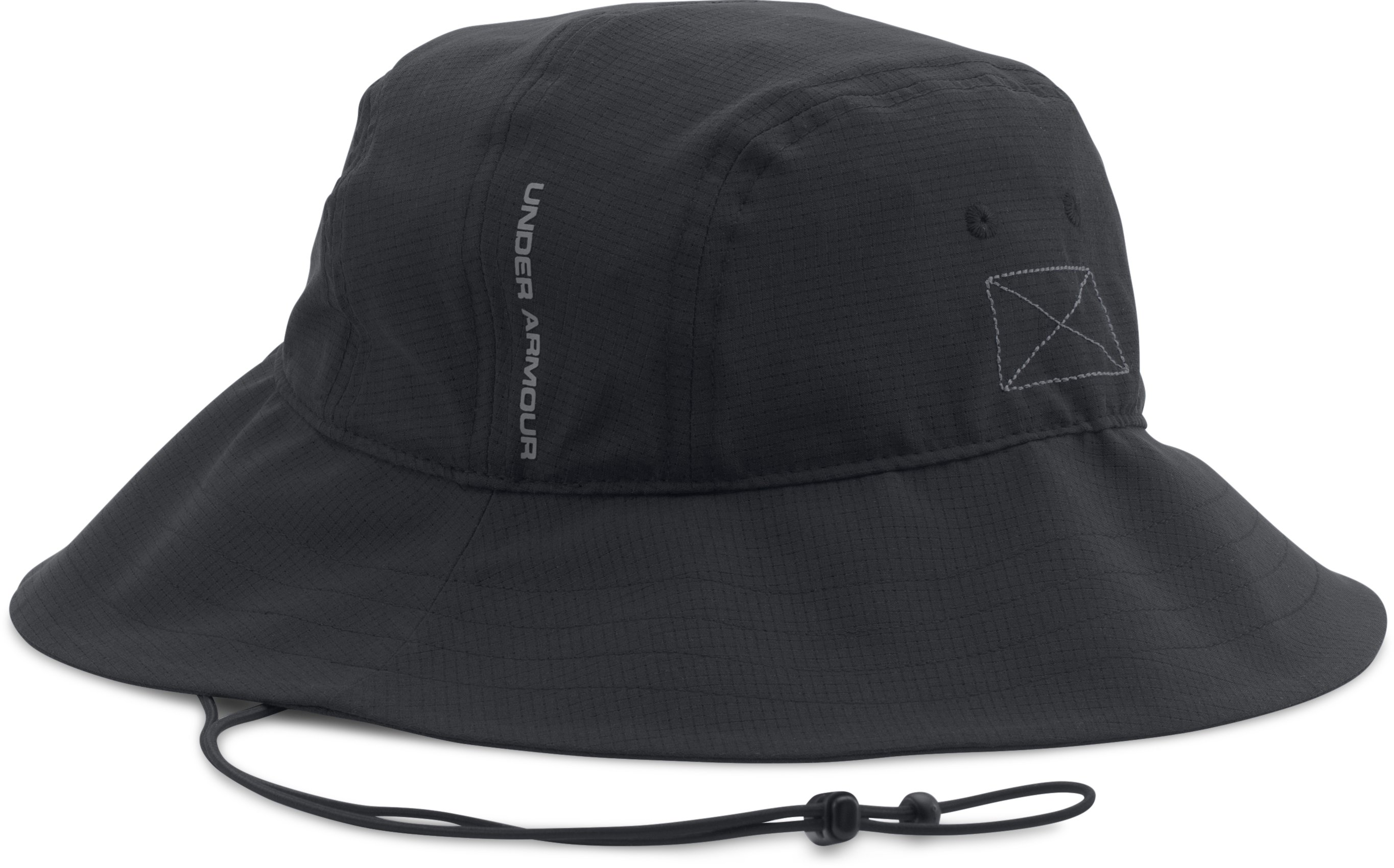 Men's UA ArmourVent™ Bucket Hat, Black , undefined