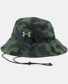 New Arrival  Men's UA ArmourVent™ Bucket Hat LIMITED TIME: FREE SHIPPING 1 Color $34.99