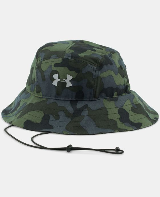New Arrival  Men's UA ArmourVent™ Bucket Hat   $34.99