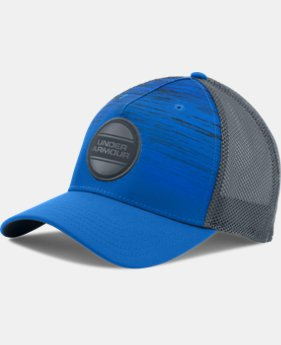 New Arrival Men's UA Striped Out Trucker Cap  1 Color $27.99