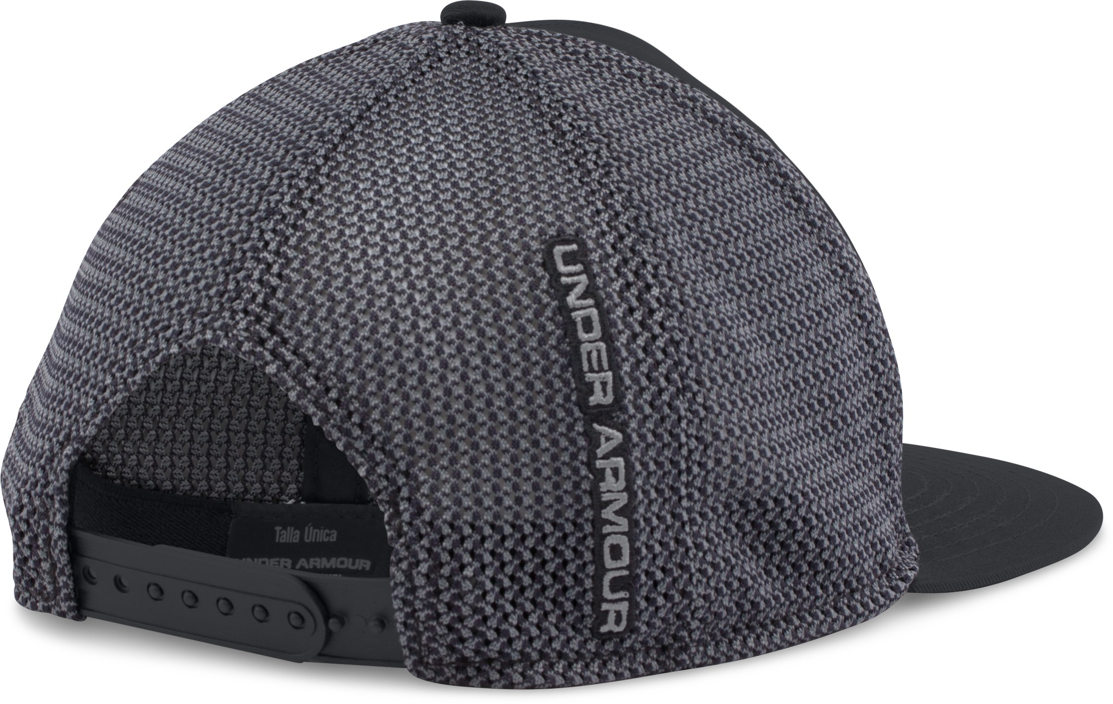 Men's UA Mesh Knit Cap, Black , undefined