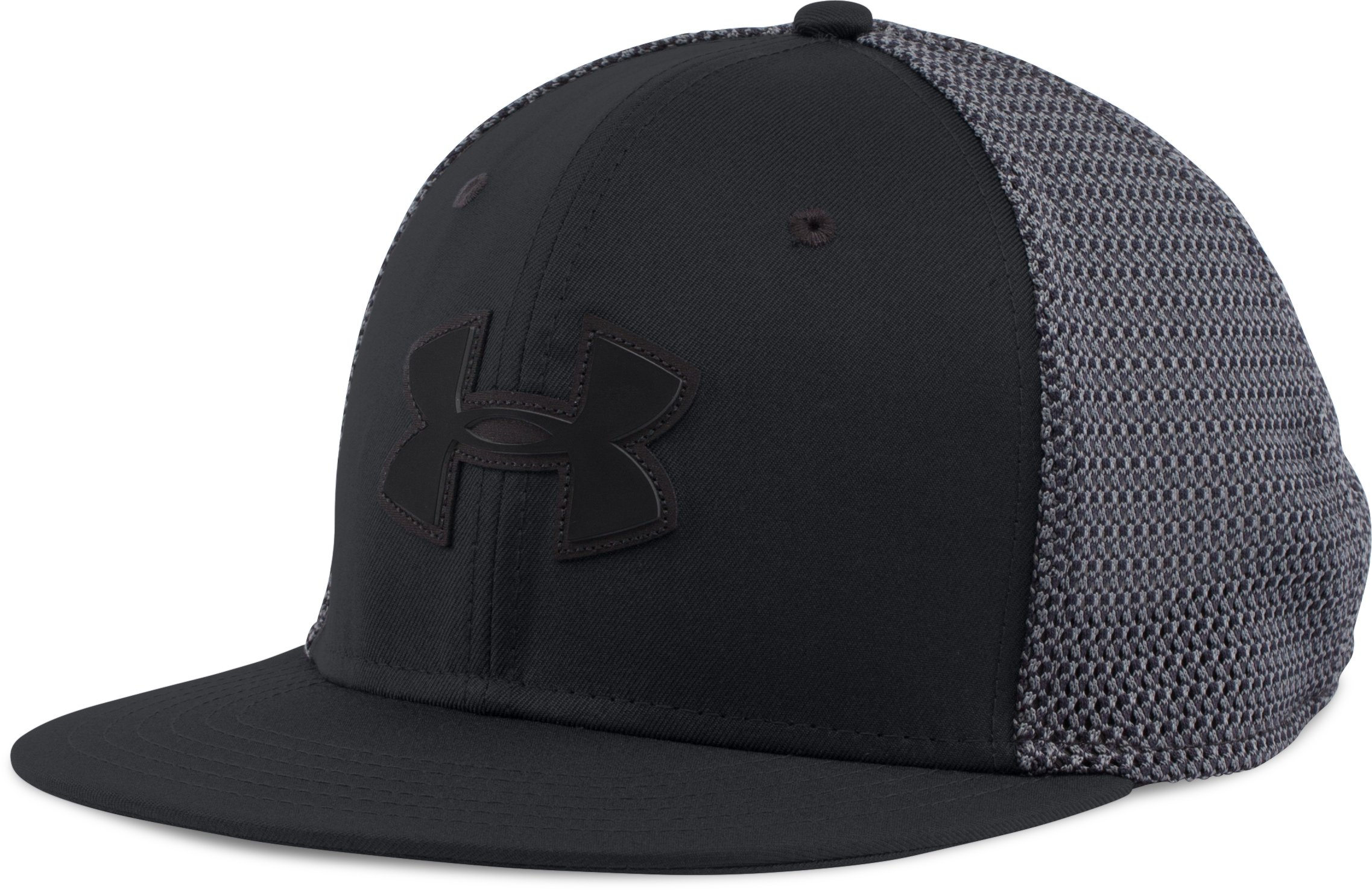 Men's UA Mesh Knit Cap, Black