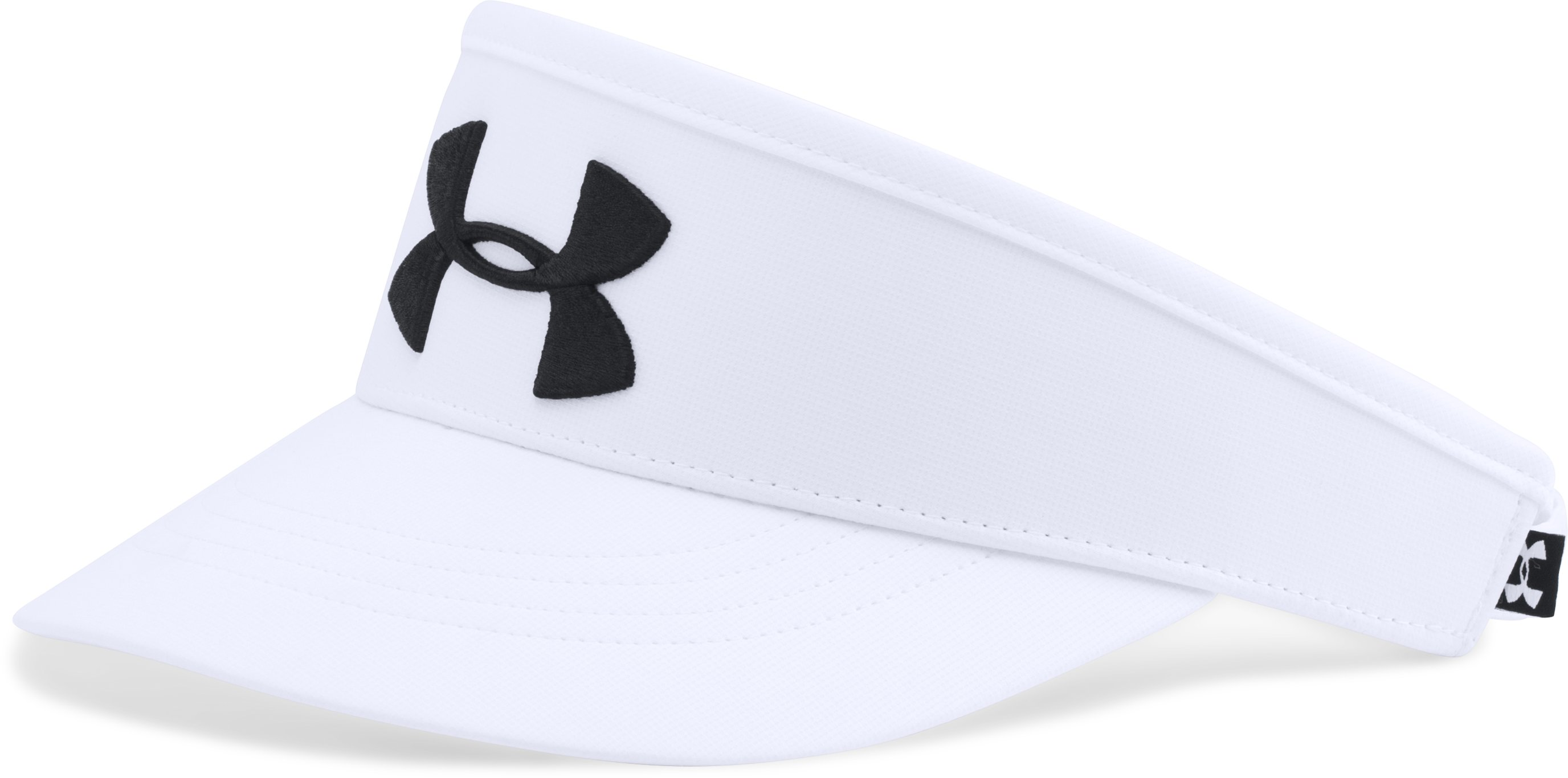 Men's UA Tour Visor 2.0, White, zoomed image