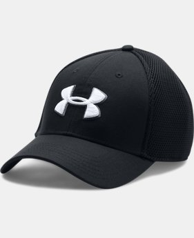 New Arrival  Men's UA Golf Mesh Stretch 2.0 Cap LIMITED TIME: FREE SHIPPING 1 Color $29.99