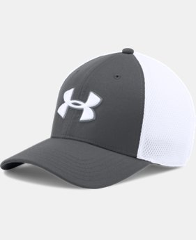 Men's UA Golf Mesh Stretch 2.0 Cap  4 Colors $24.99