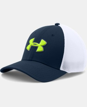 Men's UA Golf Mesh Stretch 2.0 Cap LIMITED TIME: FREE U.S. SHIPPING 6 Colors $14.24 to $18.99