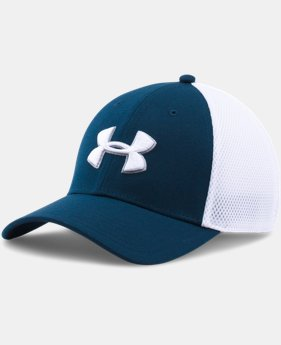 Men's UA Golf Mesh Stretch 2.0 Cap  1  Color Available $14.99 to $18.99