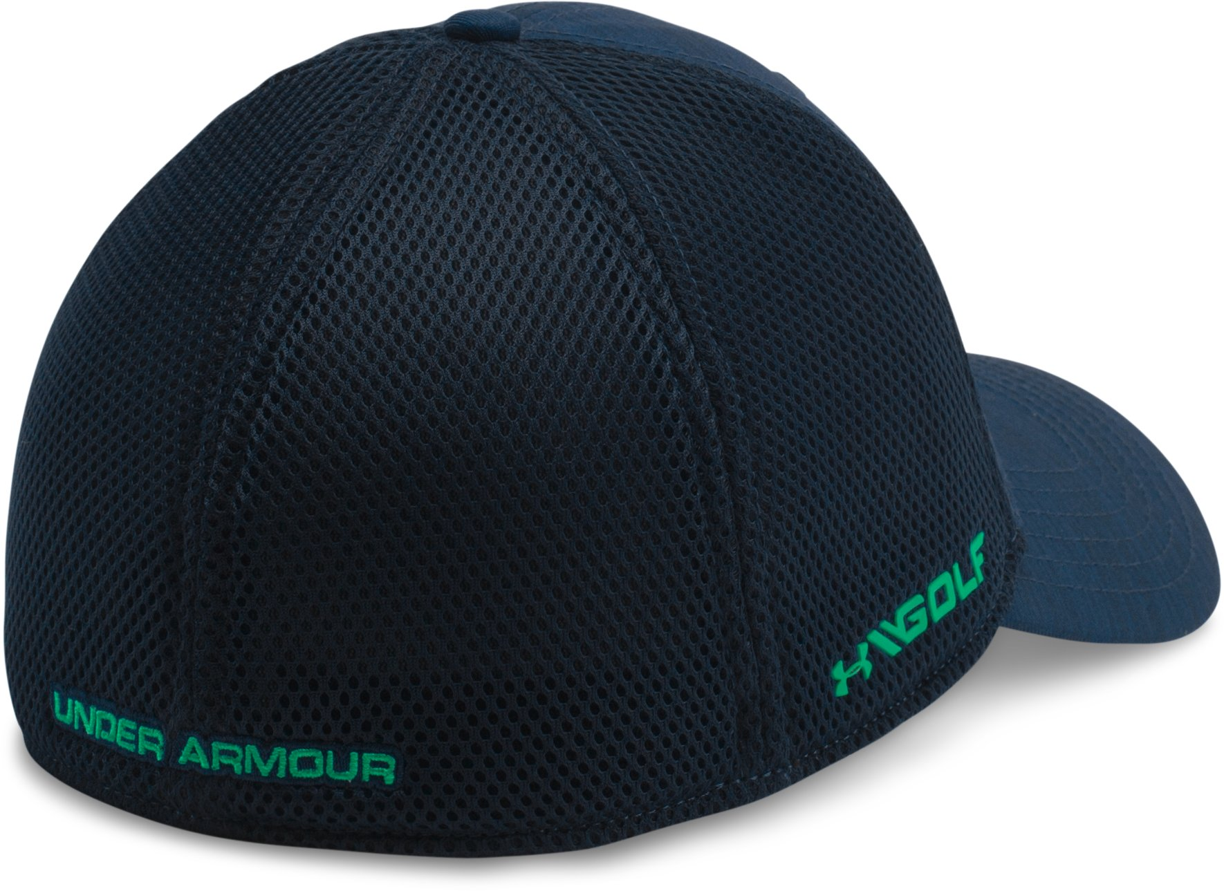 Men's UA Golf Mesh Stretch 2.0 Cap, Academy