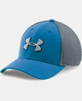 New Arrival  Men's UA Golf Mesh Stretch 2.0 Cap  4 Colors $29.99
