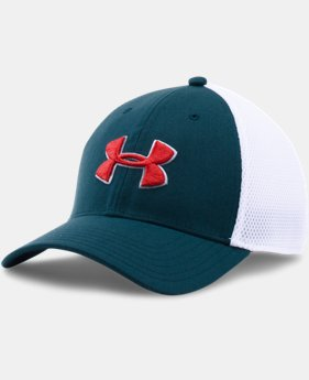 New Arrival  Men's UA Golf Mesh Stretch 2.0 Cap   $29.99