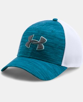Men's UA Golf Mesh Stretch 2.0 Cap  1  Color $14.99 to $18.99