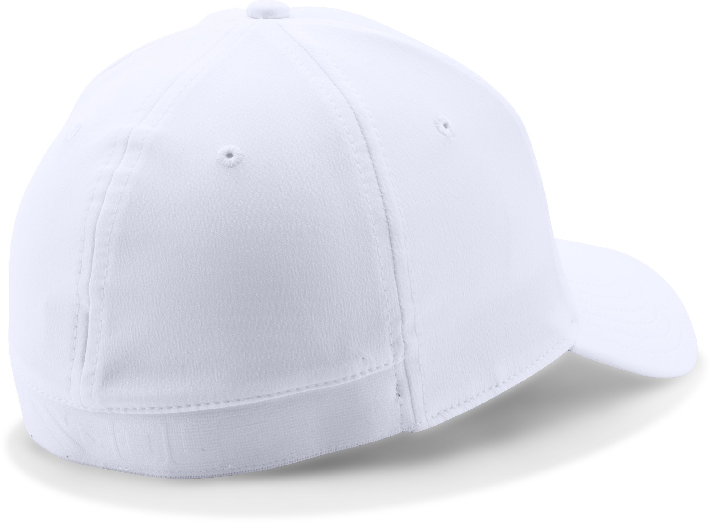 Men's UA Golf Headline Cap, White,