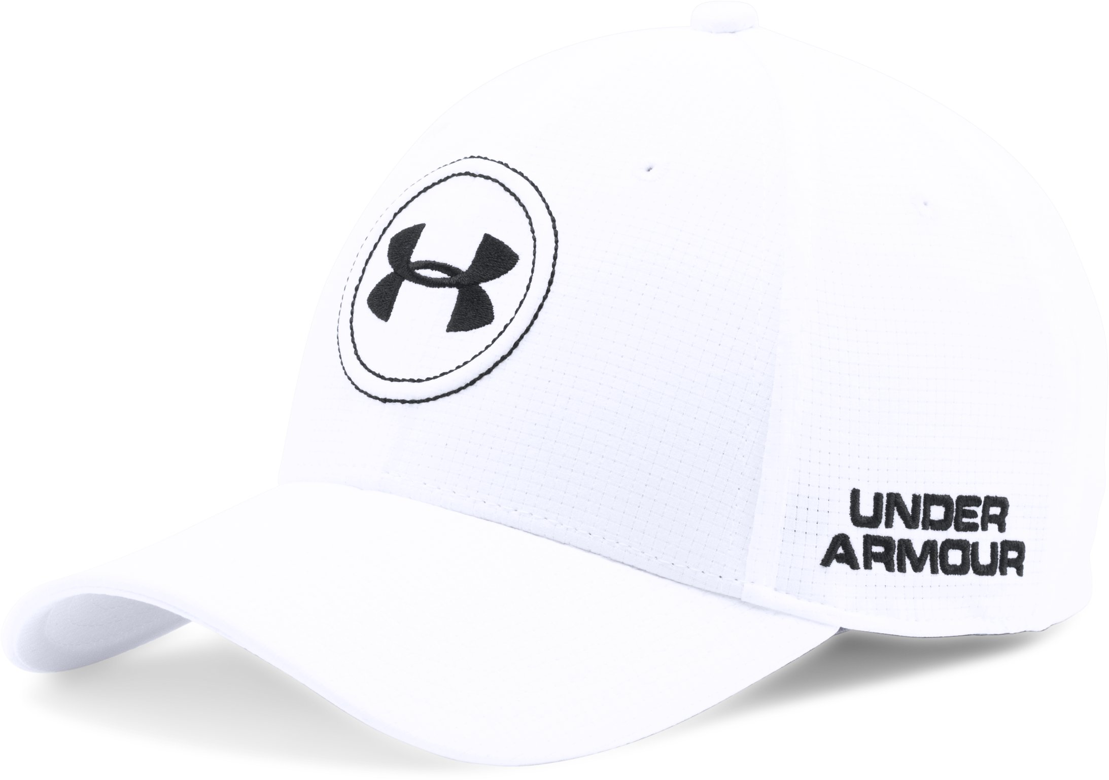 Men's UA Golf Official Tour Cap 2.0, White, undefined