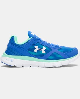 Women's UA Micro G® Velocity Graphic Running Shoes