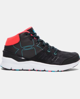 Girls' UA Overdrive Mid Grit Shoes   $69.99