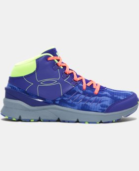 Girls' UA Overdrive Mid Grit Shoes   $52.99