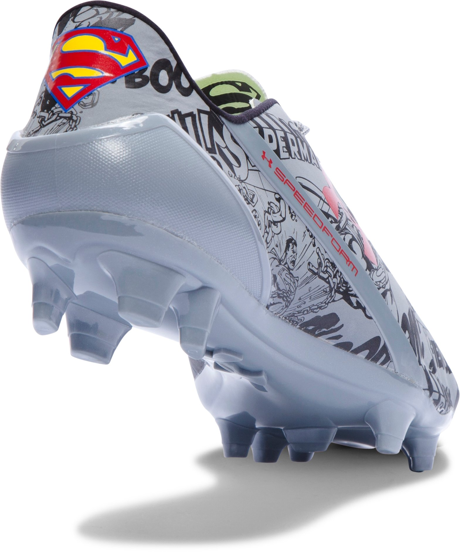 Men's Under Armour® Alter Ego SpeedForm® CRM FG Soccer Cleats, Steel
